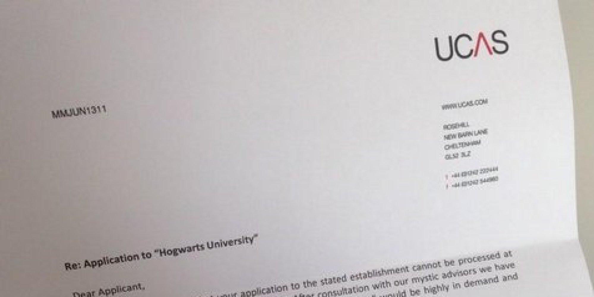 Best university application letter ever