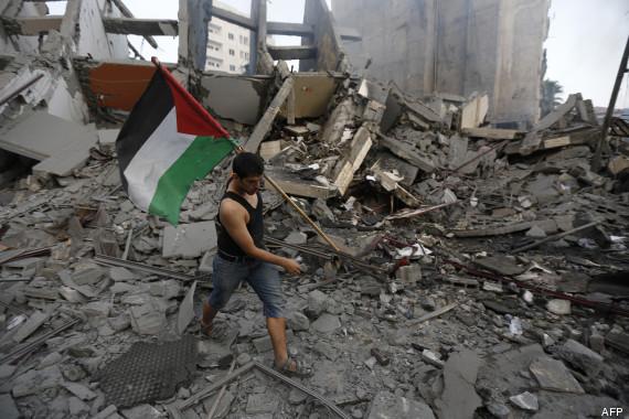 gaza palestiniens