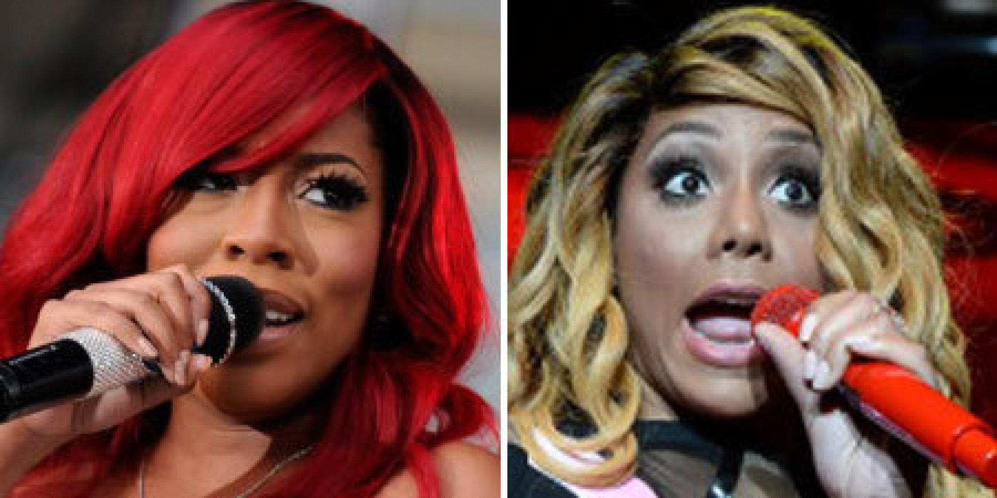 K Michelle Comes For Tamar  K Michelle Body Before And After