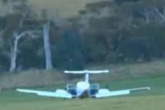 Plane on ground | Pic: YouTube