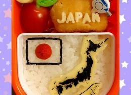 This Mom's Geography-Themed Bento Boxes Are Deliciously Clever