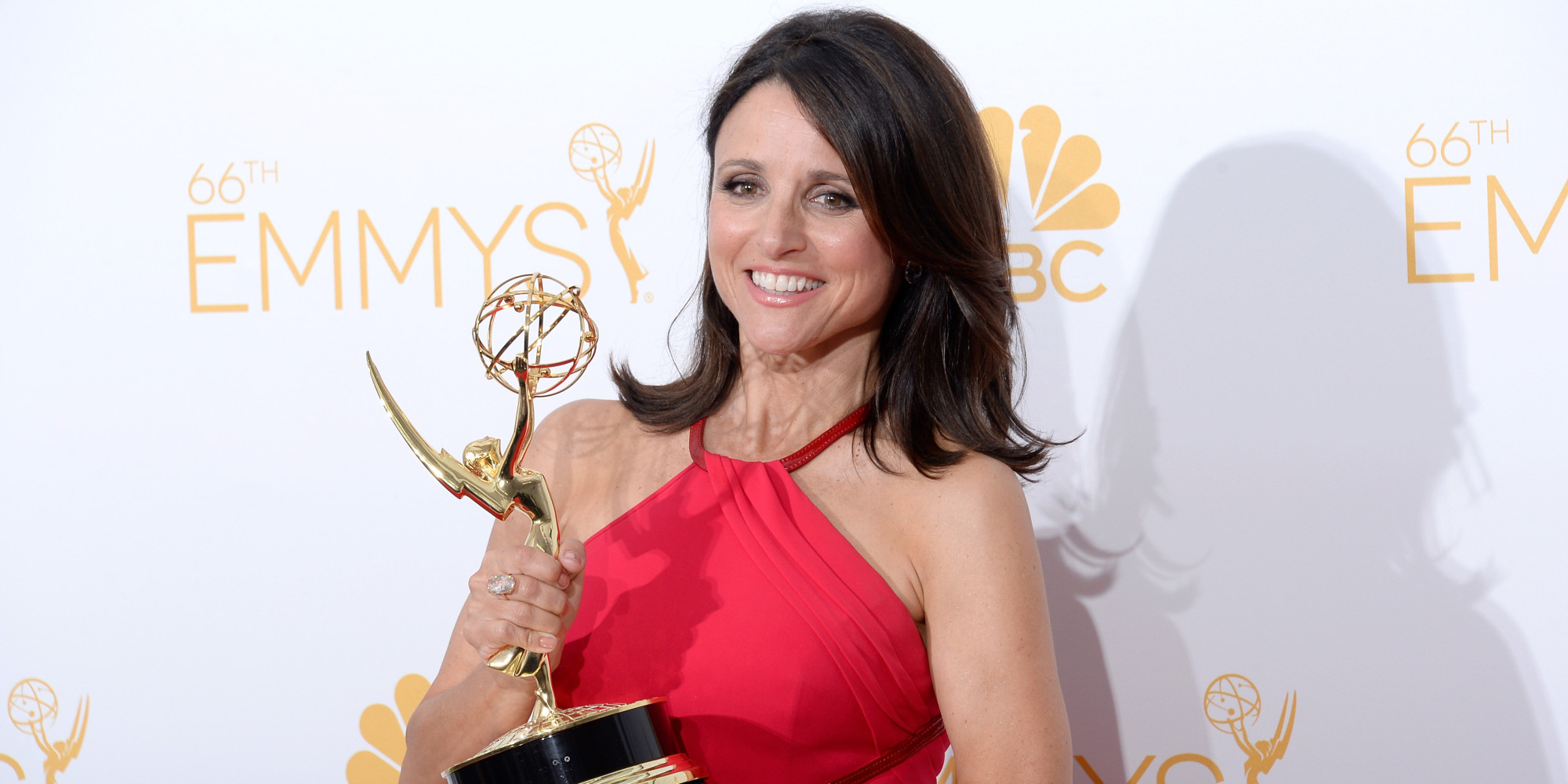 Julia louis dreyfus is heiress to lucille ball 39 s queen of for Where did julia louis dreyfus go to college