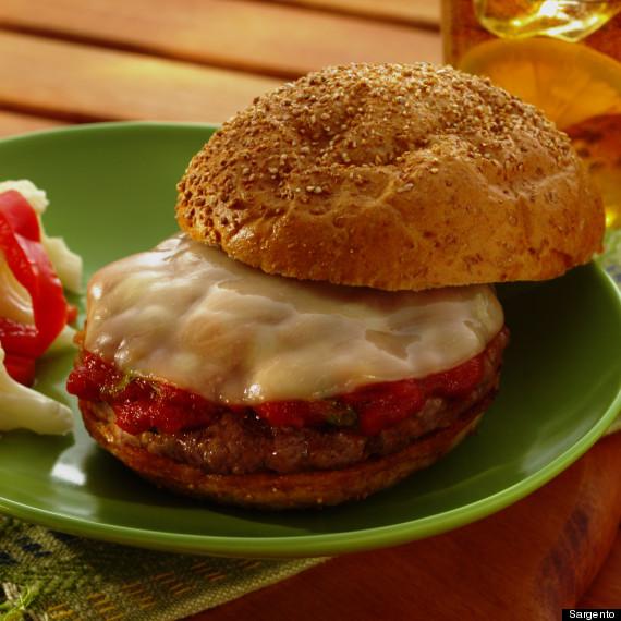 italian cheeseburger