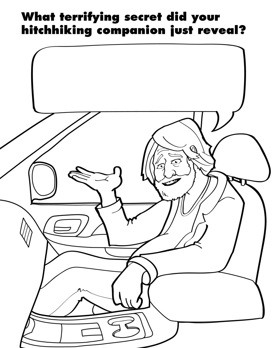 A Coloring Book For Grown-Ups Captures The Beautiful Horrors Of ...