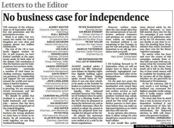 scotsman business
