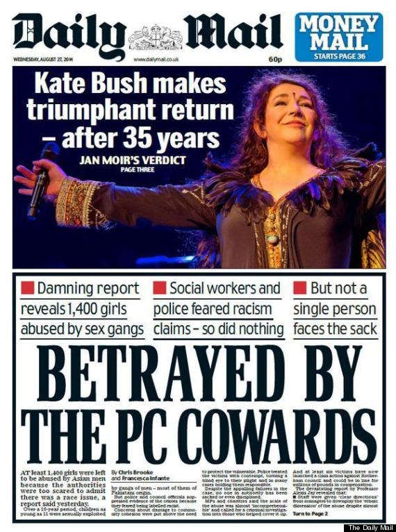 rotherham abuse front page