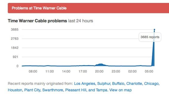 Time Warner Cable App Problems: Time Warner Cable Down Across The Country Twitter Reacts rh:huffingtonpost.com,Design