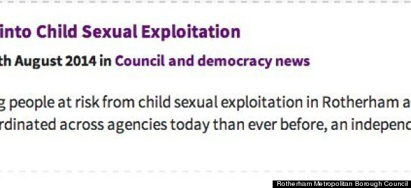 So This Is How Rotherham Council Tried To Spin Claims It Failed To Prevent 'Appalling' Abuse