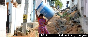 INDIA CARRYING WATER