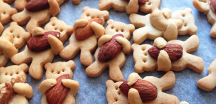 Teddy Bear Cookies Are As Cute As Baked Goods Get