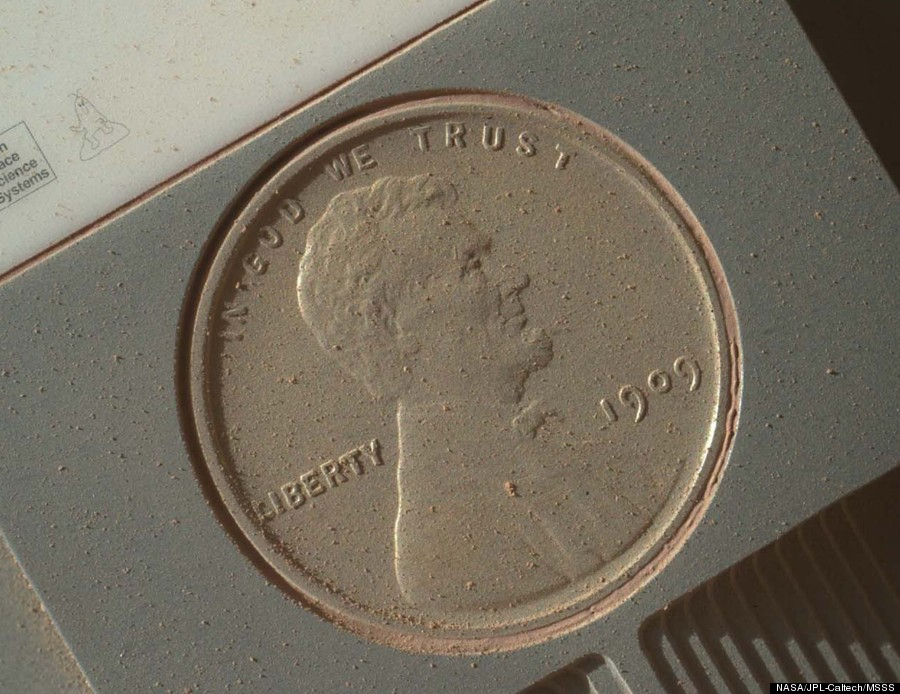 cnn mars rover picture penny - photo #1