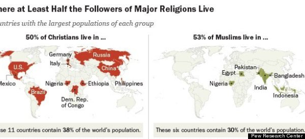 The Majority of Religiously Unaffiliated Live In This One Country
