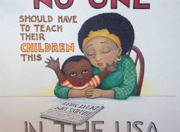 Artist's Illustration In Response To Ferguson Offers A Powerful, Sobering Perspective