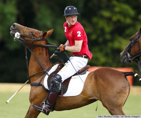 prince harry polo