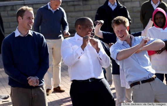 prince harry dancing