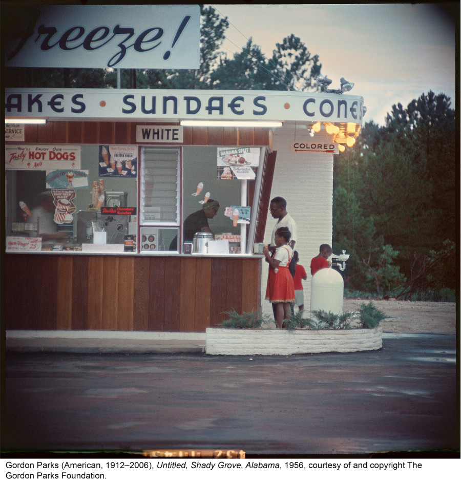 gordon parks s photo essay on civil rights era america is as  the essay chronicles the lesser seen daily effects of racial discrimination