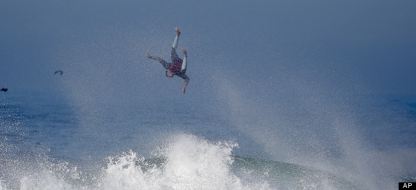 Hurricane Marie Creates Stunning Conditions For Surfers And Bodyboarders