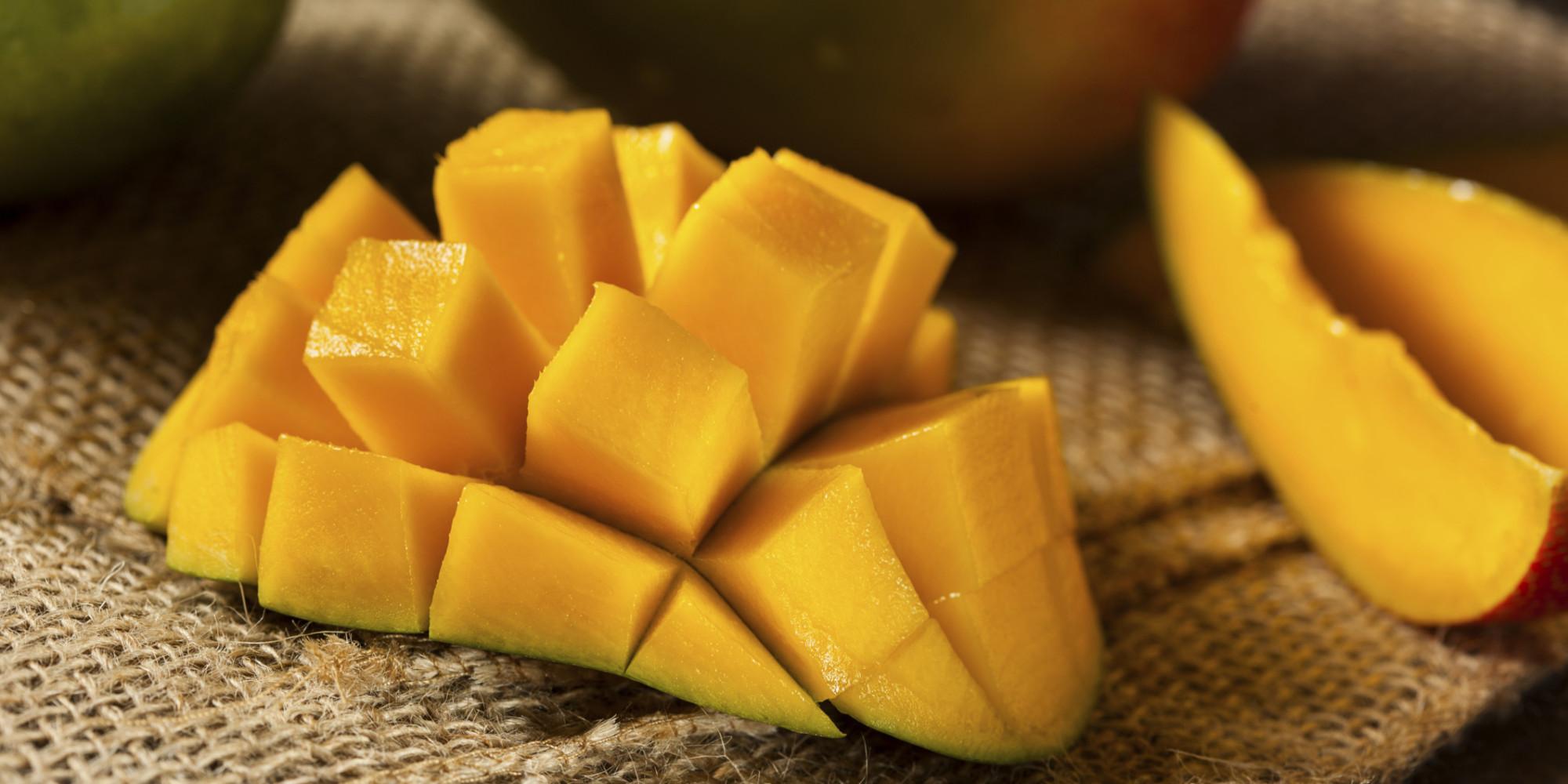 nie mehr f den ziehen so schneiden sie eine mango richtig. Black Bedroom Furniture Sets. Home Design Ideas