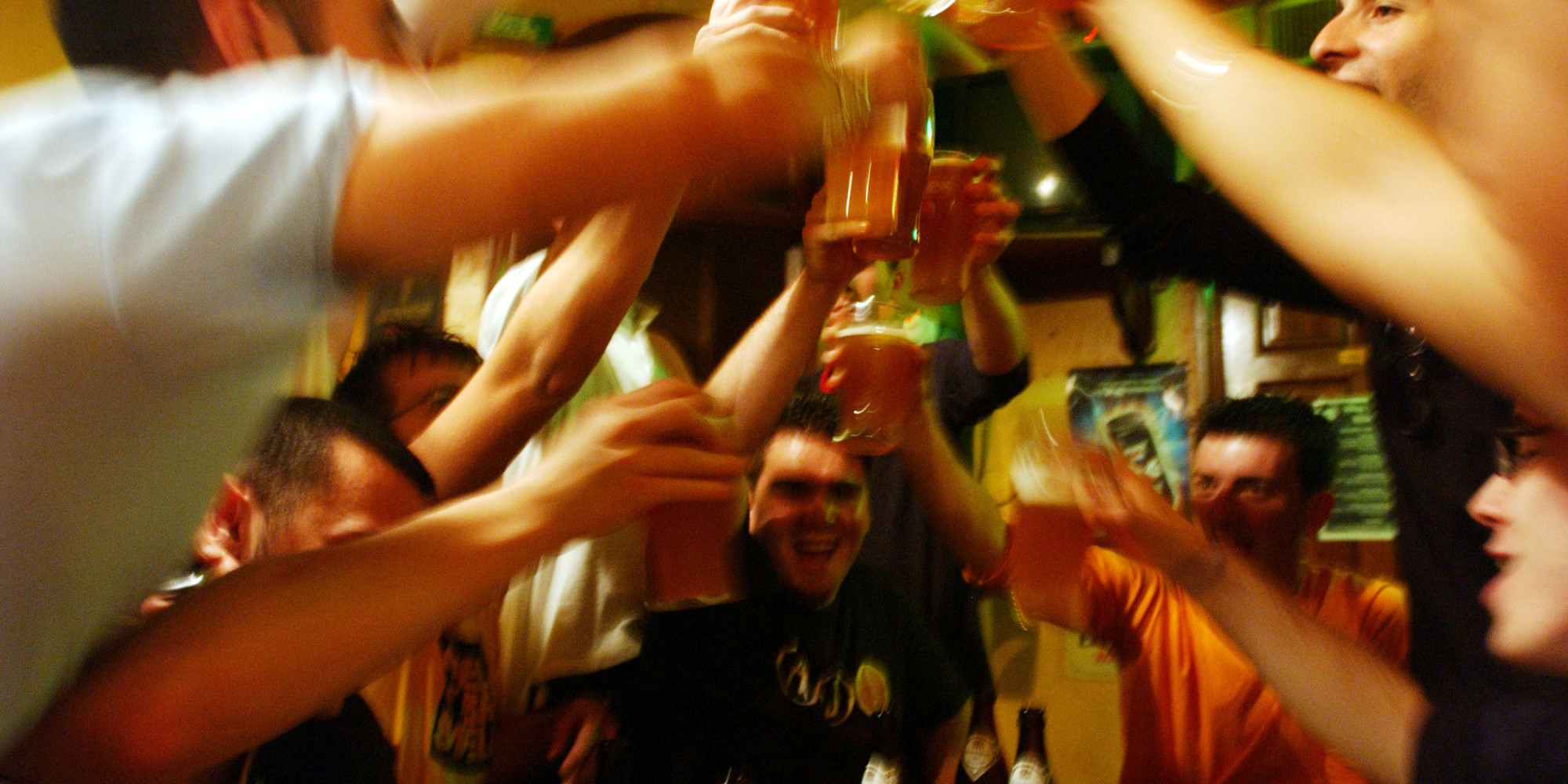 Der Alkoholismus und die Leberentzündung