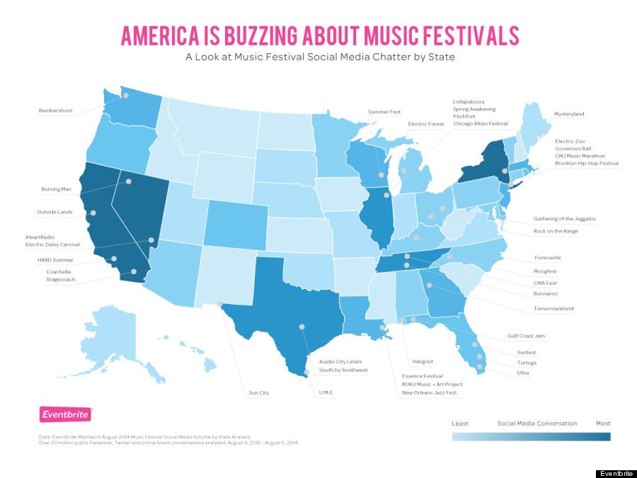 music fest map