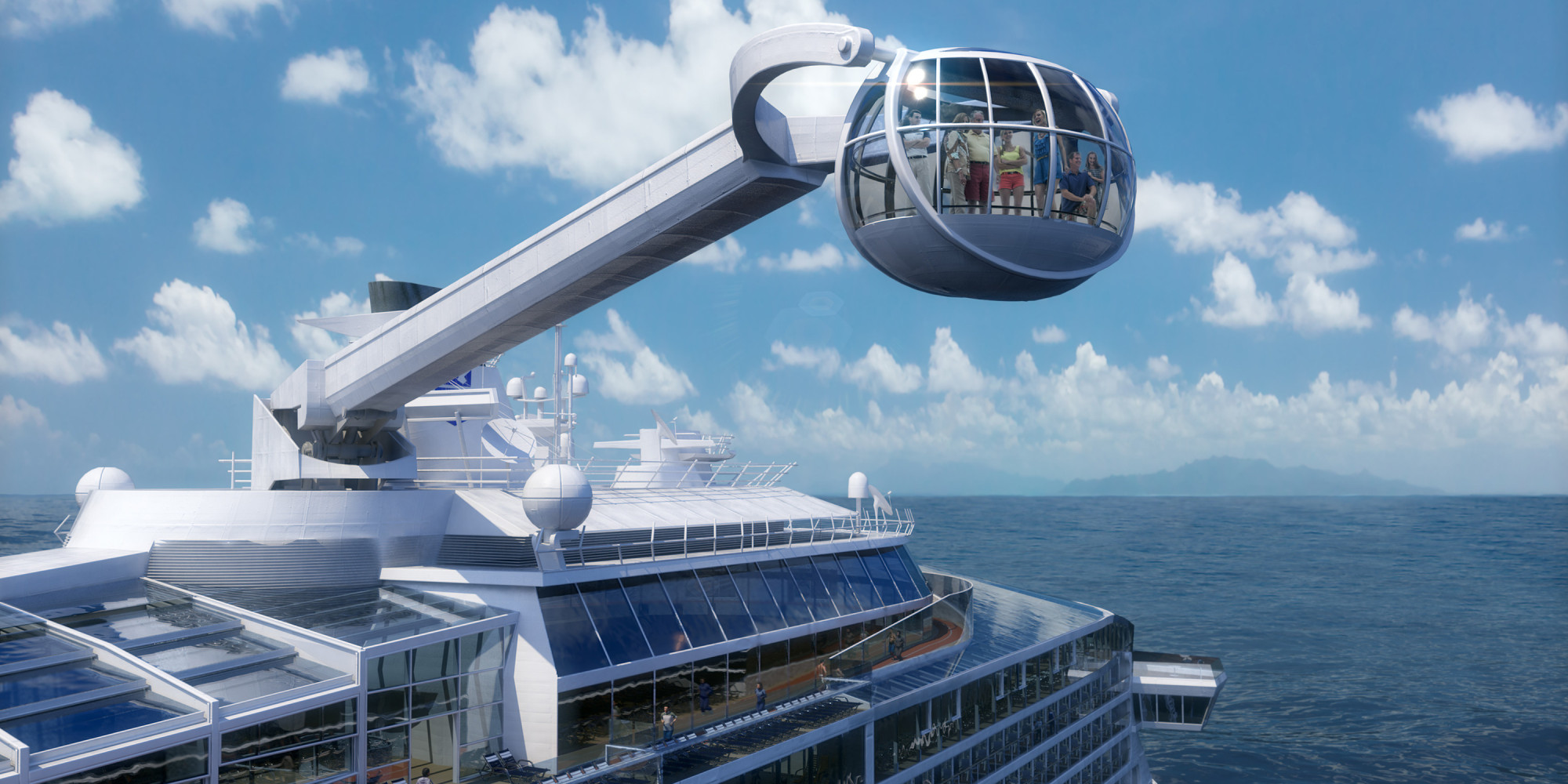 royal caribbean u0027s quantum of the seas is the future on a cruise