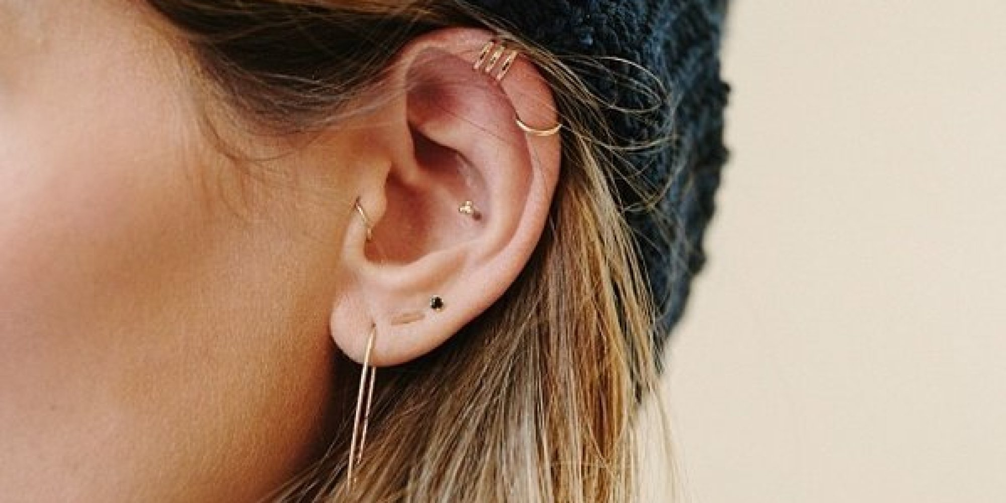 Thinking About Getting Another Ear Piercing? You Should Read This First   Huffpost