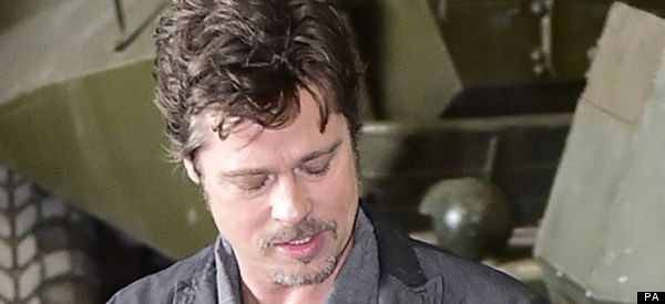 Brad Pitt Flashes His Wedding Ring As He Returns To Work