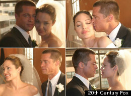 Brangelina's Wedding Pics Are Here! (Kinda)