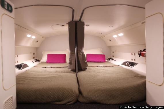 pilot sleeping quarters