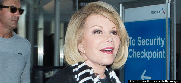 Joan Rivers 'Rushed To Hospital'