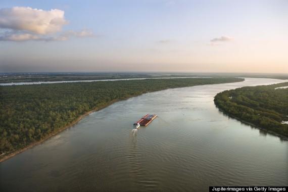 louisiana mississippi river