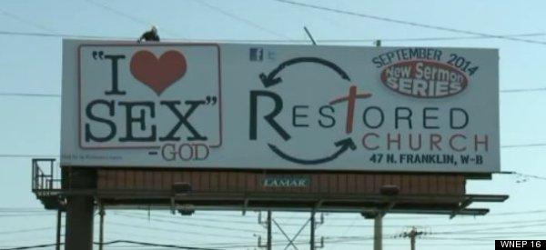 'God Loves Sex' Billboard Turns Heads