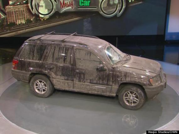 oprah show messy suv exterior