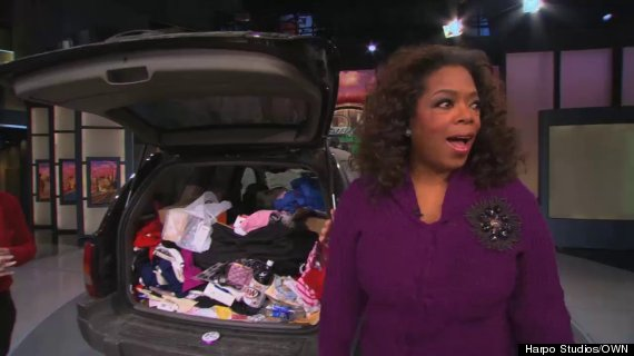 oprah show messy suv reaction