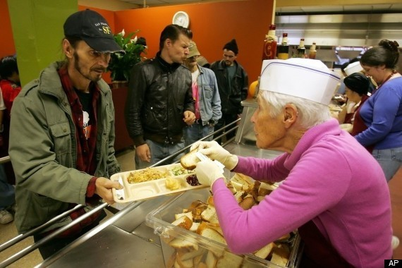 Feeding Homeless