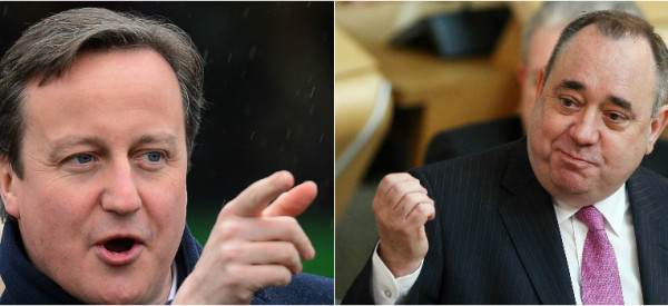 Cameron And Salmond Hit Campaign Trail As Scottish Independence Vote Draws Near