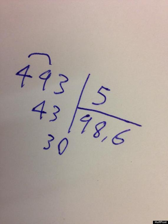 french long division