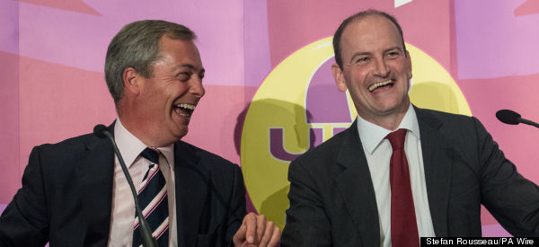 Carswell Was Not The Only Tory 'Wined And Dined By Ukip'...