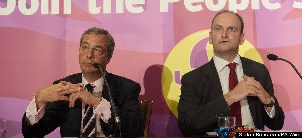 Douglas Carswell Faces His First Ukip Shambles...