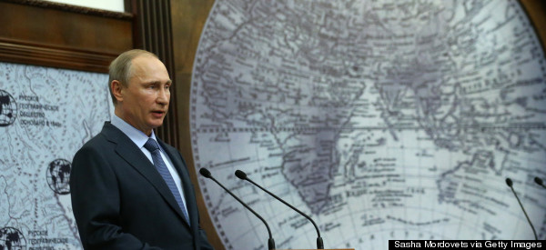 Putin: Russia Must Strengthen Position In Arctic