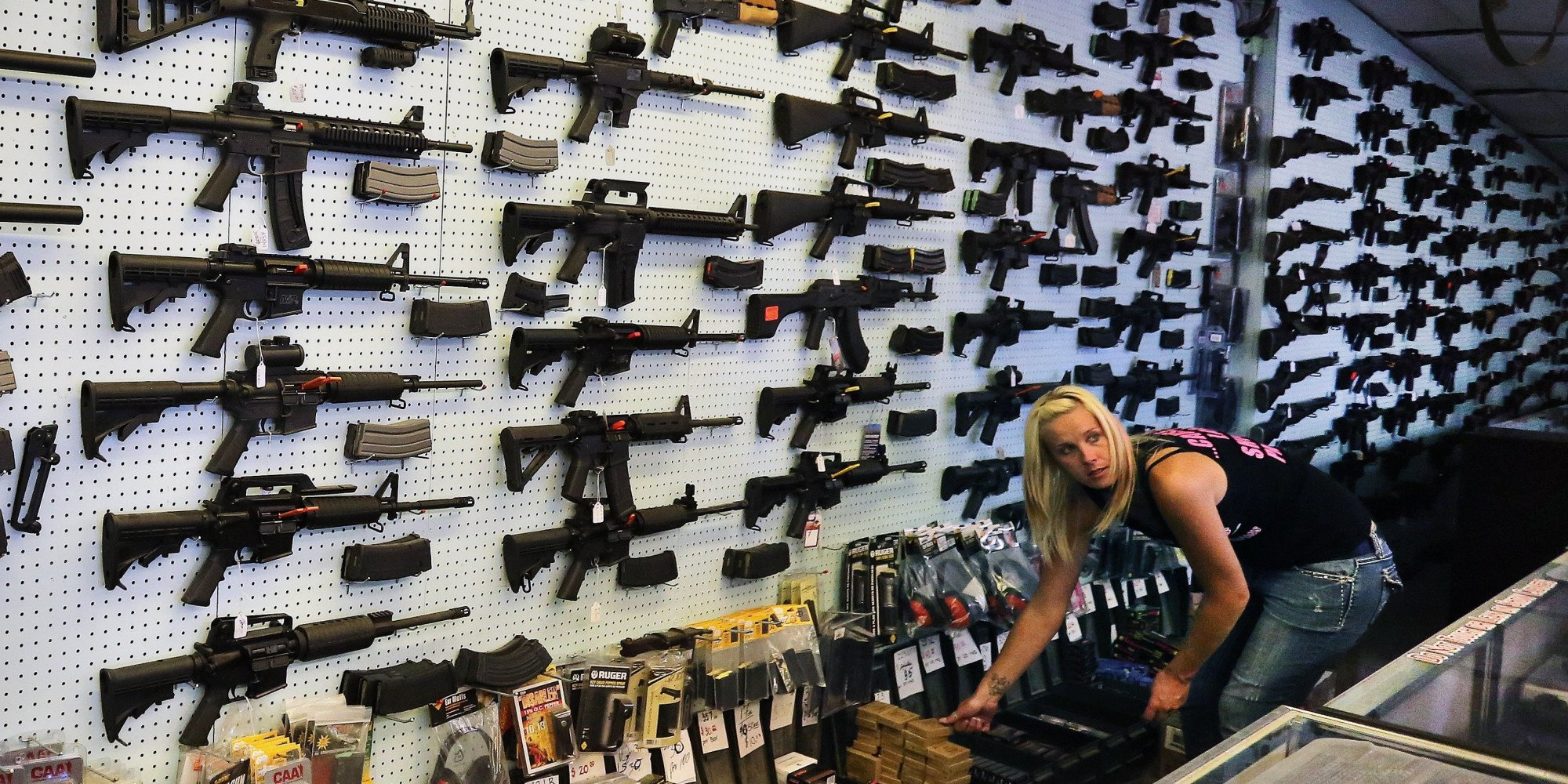 Americans Are Starting To Buy Guns At Slightly Less Ridiculous Rates ...