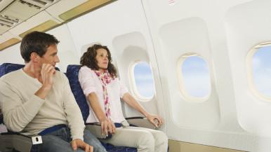 flying passenger