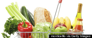 SHOPPING BASKET FOOD