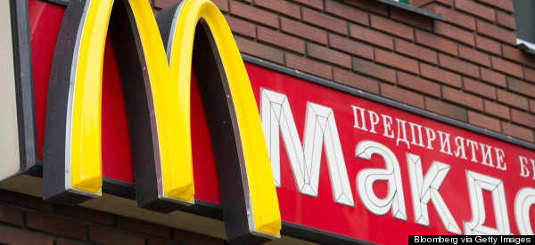 McDonald's Says Russian Officials Shut Down 12 Locations