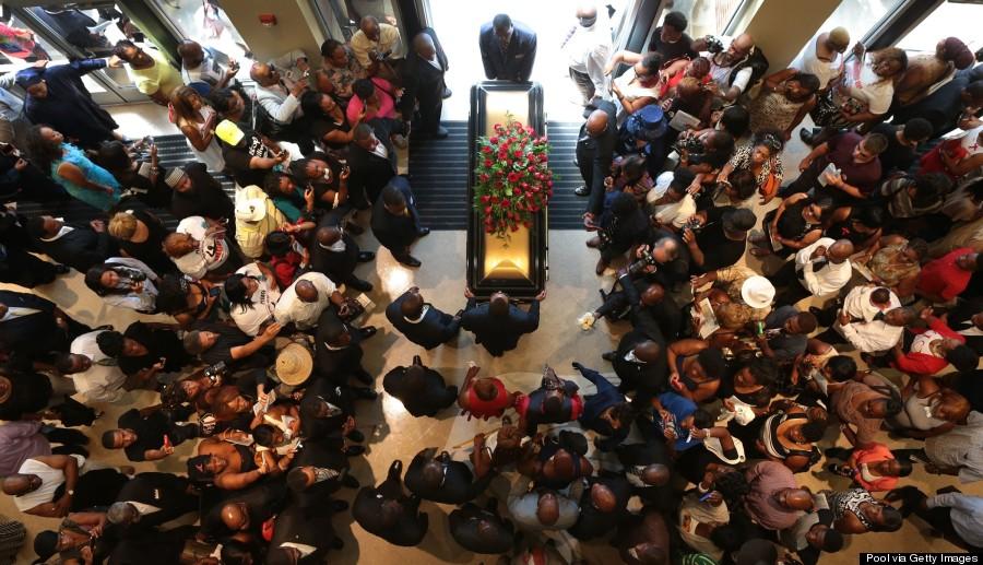 ferguson funeral