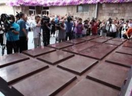 Worlds Largest Chocolate Bar Armenia