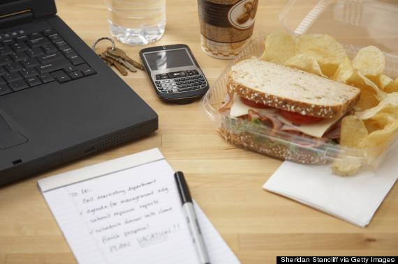 lunch desk