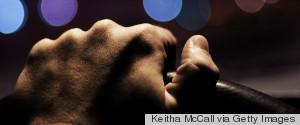 HAND ON STEERING WHEEL NIGHT