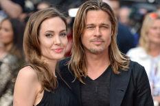 Angelina Jolie et Brad Pitt | Image: PA