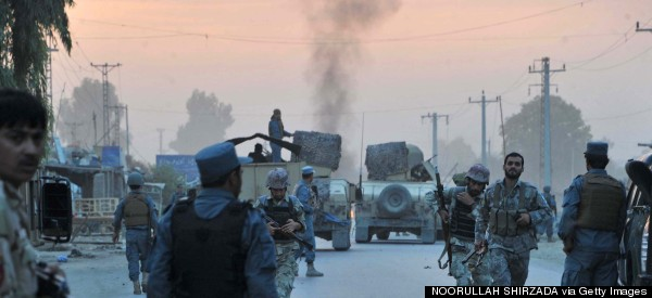 Taliban Launch Attacks In Afghanistan Amid Political Deadlock